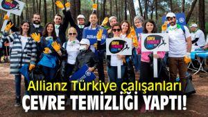 Allianz Türkiye çalışanları çevre temizliği yaptı!