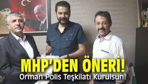 MHP'den öneri: Orman Polis Teşkilatı Kurulsun!