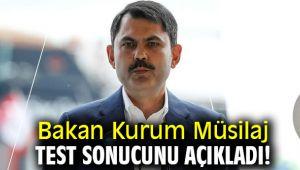 Bakan Kurum Müsilaj test sonucunu açıkladı!