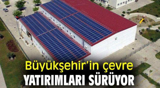 İzmir Büyükşehir Belediyesi'nin çevre yatırımları sürüyor