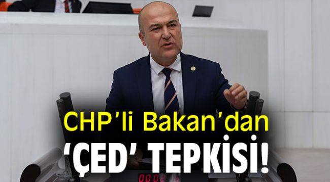 CHP'li Bakan'dan 'ÇED' tepkisi!