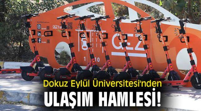 Dokuz Eylül Üniversitesi'nden ulaşım hamlesi!