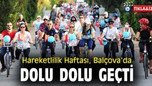 Hareketlilik Haftası, Balçova'da dolu dolu geçti